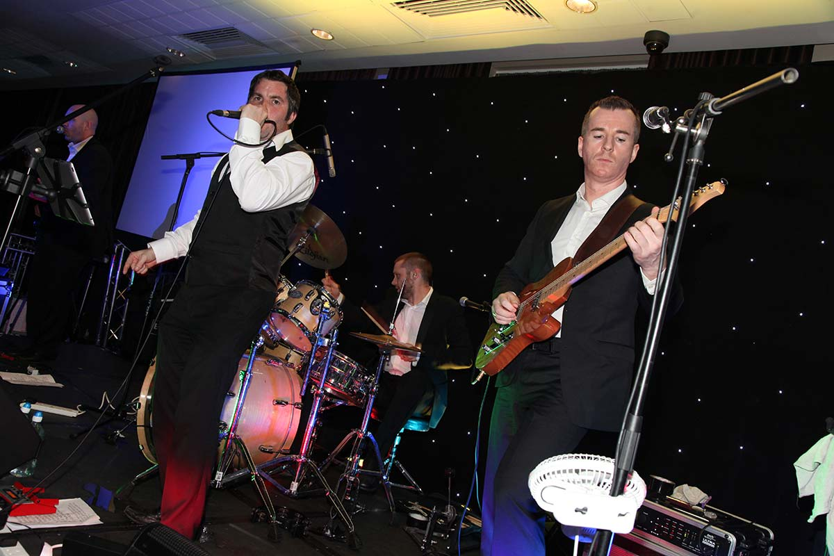 Live Wedding Band Slinky | Rock Pop and Indie Wedding Band | Band performing at birthday party 2.