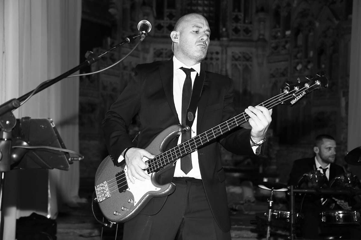 Live Wedding Band Slinky | Rock Pop and Indie Wedding Band | Performing at the Monastery for a Summerball 4.